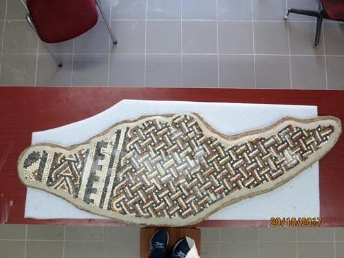 Mozaik sa lokaliteta Panik, Bileća