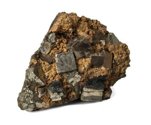 geologija, minerali, pirit